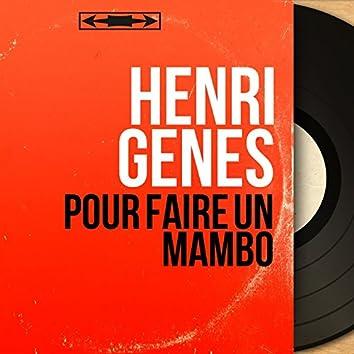 Pour faire un mambo (feat. Marius Coste et son orchestre) [Mono version]