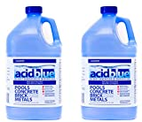 Acid Blue Muriatic Acid - Swimming Pool pH Reducer Balancer | Buffered, Low-Fume - 2 Pack (2 Gallons)