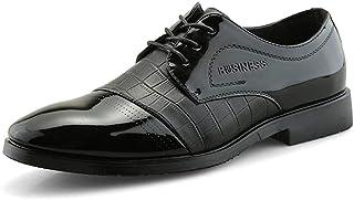 [LILI] シューズ 靴 メンズ オックスフォードシューズ レザー 無地 ファッション 紳士靴