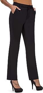 Best women's black dress pants with belt loops Reviews