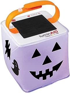 LuminAID Halloween Solar Jack-o-Lantern   Customizable and Great for Trick-or-Treating!