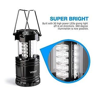 عروض Vont 2 Pack LED Camping Lantern