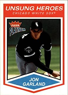 2004 Fleer Platinum #162 Jon Garland UH MLB Baseball Trading Card