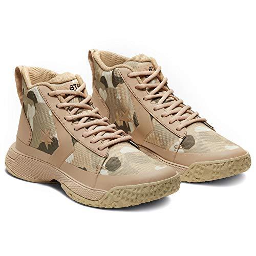 Converse Mens Star Series BB Basketball Shoes (10.5, Papyrus/Club Gold/Khaki)