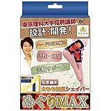 【 カラダのプロが設計開発 】 漢医美健 太もも シェイパー 痩せ 着圧 加圧 サポーター めぐりMAX (S)