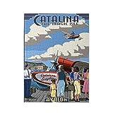 Isla Catalina, California - Rompecabezas con imágenes de hidroavión 500PCS