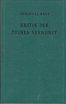 Hardcover Kritik der reinen Vernunft [German] Book