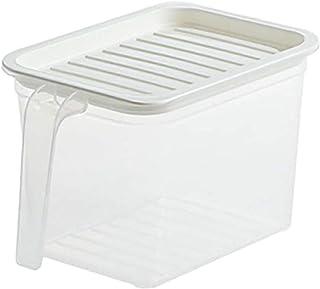 Aiong Boîte de Rangement des Aliments, 5/1 pièces boîte de Rangement Transparente de Cuisine Bocal scellé Organisateur de ...