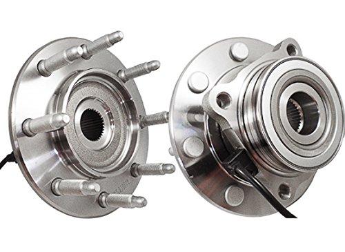 Callahan 515058X2 [2] Pair FRONT Premium Grade [ 8 Lug 4WD ABS ] Wheel Hub Bearing Assemblies [ 515058 ]