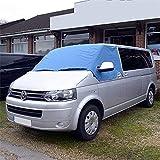 Tela protectora para el parabrisas para furgonetas VW T5 T6, color azul