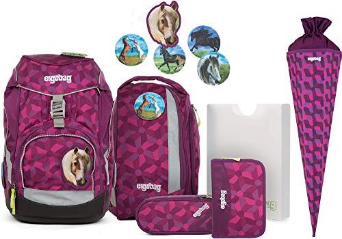 Ergobag Pack NachtschwärmBär Schulrucksack-Set 6tlg. + Schultüte