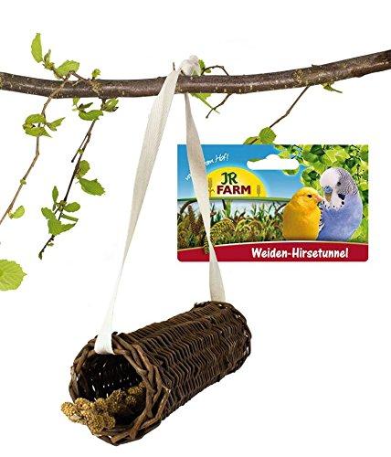 JR-Farm Weiden-Hirsetunnel für alle Ziervögel