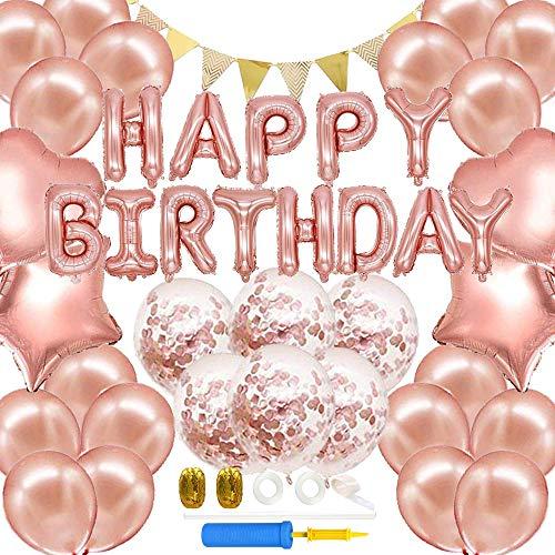 iWheat 誕生日 飾り付け セット バルーン 風船 Happy Birthday パーティー 装飾 バースデー デコレーション...