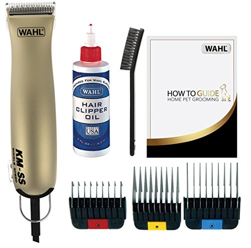 Wahl Dog Clippers, KMSS Premium Dog Grooming Kit, Full Coat Dog Grooming...