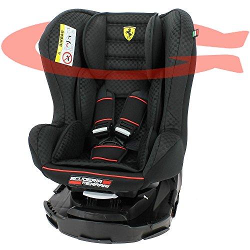 Mycarsit Sige Auto 360 Ferrari, Groupe 0+/1 (de 0 18 kg), Noir