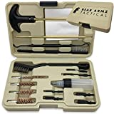 Bear Armz Tactical Universal Handgun Cleaning Kit | American Company | Gun Cleaning Kit for Calibers .22.357/9mm.38.40.45 | Compatible with Handguns, Revolvers, and Pistols | Hard Portable Case