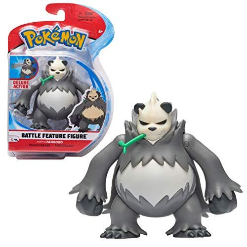 Pokemon Battle Feature Figure 12 centimeters Pangoro, New Pokemon Toy 2021, Authentic Details & Battle Features, Officially Licensed