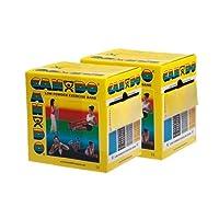 CanDo? Low Powder Exercise Band - Twin-Pak? - 100 yard (2 x 50 yard rolls) - Yellow - x-light