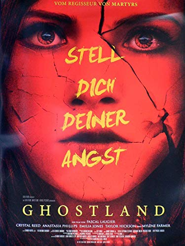 Ghostland - Crystal Reed - Taylor Hickson - Filmposter A1 84x60cm gerollt