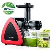 Extracteur de Jus, Homever Sans BPA Extracteur de Jus de Fruits et Légumes avec Moteur Silencieux...