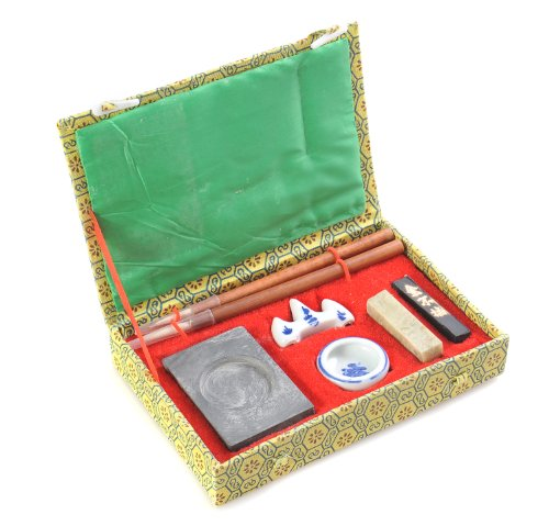 Quantum Abacus Calligrafica Basic: Set de caligrafía de 7 piezas en elegante caja de regalo, H-CGS-7-01