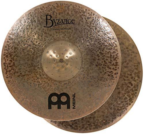 "MEINL Cymbals マイネル Byzance Dark Series ハイハットシンバル 15"" Big Apple Dark Hihat ペア B15BADAH 【国内正規品】"