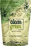 Clean Green Tee ● 14 Tage Body Tee Kur ● 100% natürliche Kräuterteemischung Hergestellt in Deutschland ● für Frauen und Männer ● auch ohne Sport ● Nurigreen