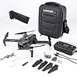 Drone X Pro LIMITLESS 3 GPS 4K UHD Camera Drone for Adults with EVO Obstacle Avoidance, 3-Axis Gimbal, Auto Return Home, Follow Me, Long Flight Time, Long Control Range, 5G WiFi FPV Live Video, EIS