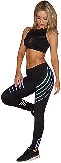 Women Fitness Leggings Night Reflection Yoga Running Gym Stretch Sports Pants