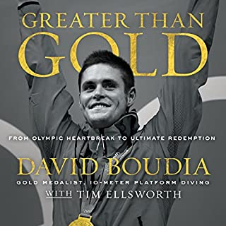 Greater Than Gold audiobook cover art