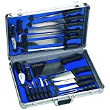 Best Chef Knife Professionals - Slitzer Germany 22pc Professional Chef's Cutlery Set in Review