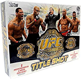 UFC 2011 Topps Title Shot Trading Cards (12 Packs)