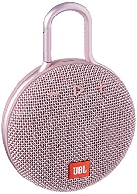 JBL Clip 3 Waterproof Portable Bluetooth Speaker - Pink