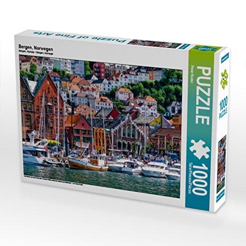 Preisvergleich Produktbild Bergen,  Norwegen 1000 Teile Puzzle quer