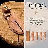SEEADLER® Premium Schuhspanner - St. John Edition aus kanadischen Zedernholz für Herrenschuhe- 40 EU - 4
