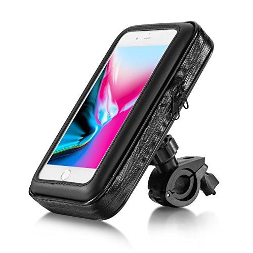 Eximtrade Universal Wasserdicht Fahrrad Handy Halterung Beutel Tasche für Smartphones und GPS (Für Smartphones 5,5