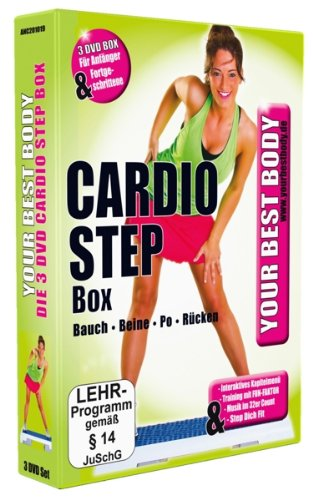 Your Best Body - Cardio Step Box [3 DVDs]