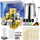 perkisboby candle making kit for adults and kids, premium diy candle making kit supplies, easy to