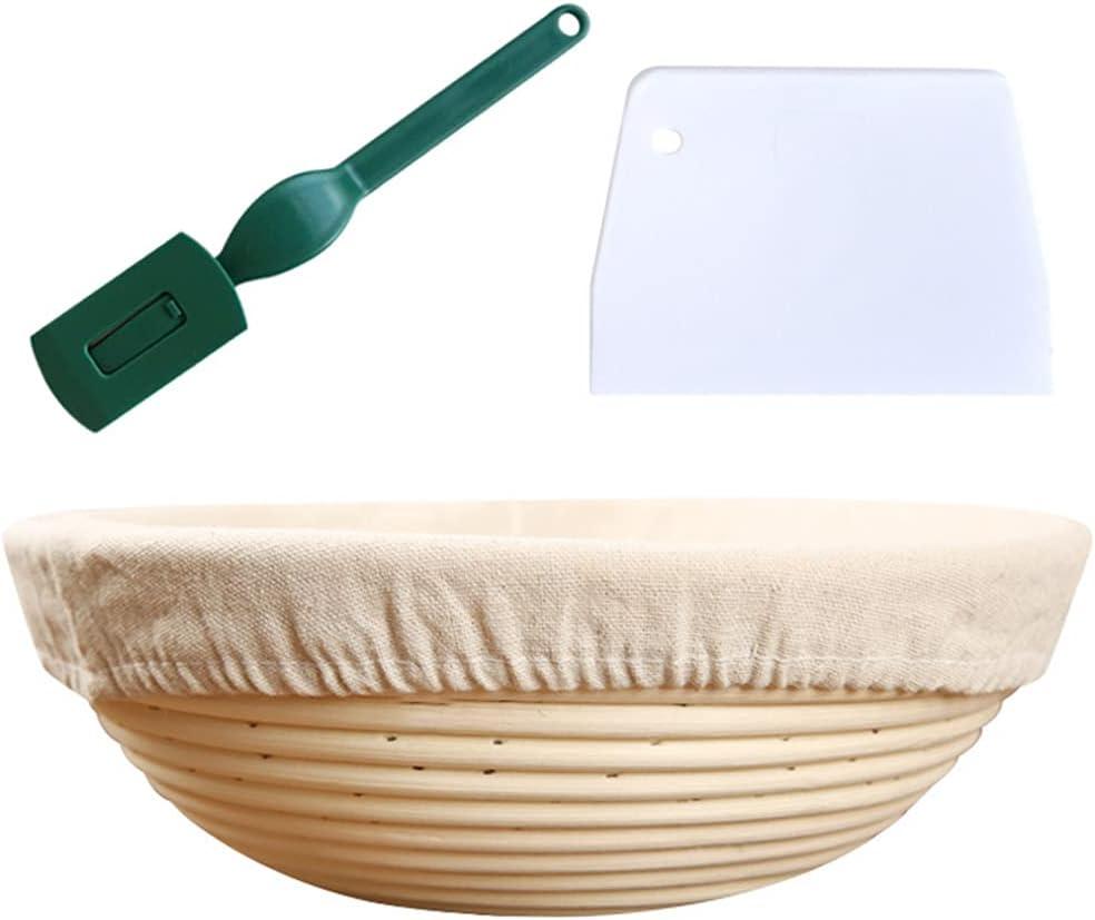 FEIlei Popular Pastry Tool 4 Pcs Wicker Bread Dealing full price reduction Natur Fermentation Basket