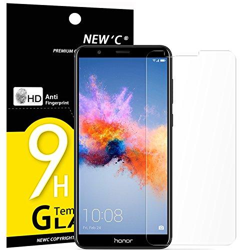 PanzerglasFolie Schutzfolie für Huawei Honor 7X, [3 Stück] Frei von Kratzern Fingabdrücken und Öl, 9H Härte, HD Displayschutzfolie, 0.33mm Ultra-klar, DisplayschutzfolieHuawei Honor 7X