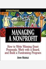 Streetwise Managing a Non-profit Organization Paperback