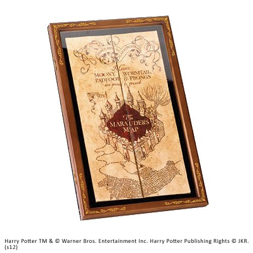 Harry Potter - Coffret - Carte du Maraudeur
