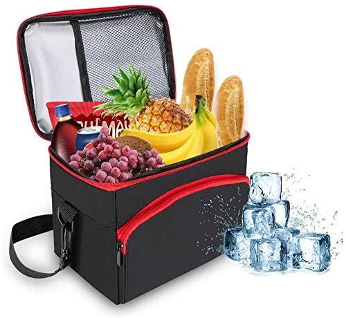 WRJY Bolsa de Almuerzo con Aislamiento de 8L Bolsa de Picnic Picnic Cool Bag Resistente al Agua Bolsa de Enfriador Suave Plegable Resistente al Agua para Camping Gym Picnic de Viaje