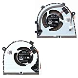 Replacement Compatible Laptop CPU Cooling Fan Cooler for Dell Ins G3-3579 CN-0TJHF2 CN-0GWMFV DFS551205ML0T FKB7 dc28000kuf0 DC28000KVF0 DFS481105F20T FKB6 FCN