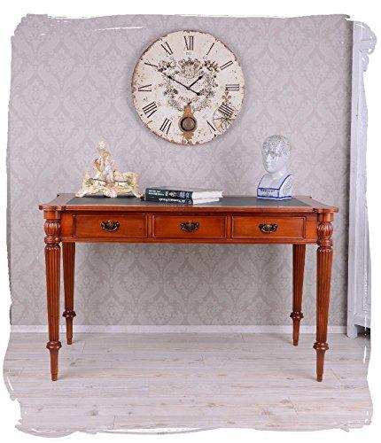 Preisvergleich Produktbild Historischer Schreibtisch im Kolonialstil Mahagoniholz mar035 Palazzo Exklusiv