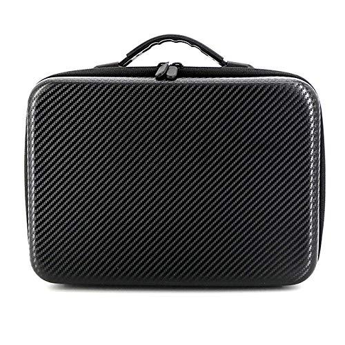 Huanruobaihuo Bolsas de Almacenamiento portátil for el dji Mavic Pro 2 / Zoom portátil a Prueba de Agua Caja Carry Duro Bolsa de Mano Caso Maleta Accesorios Quadcops (Color : Black)