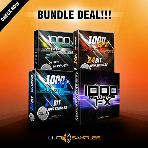 The 4000 SFX Bundle sample pack contains all 4 volumes of SFX series. This series has found its place on many Sound Engineers around the World. | DVD non BOX