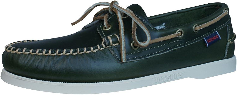 Sebago, 720-000, Horween Docksides, Grün Grün Emerald Grün  Auswahl mit niedrigem Preis