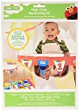amscan 1st Birthday 1st Birthday Elmo High Chair Decorating Kit Party Supplies Elmo Sesame Street Fun to be One!, Multicolor, One Size