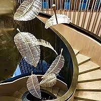 ヴィラ階段長いシャンデリア二重ペントハウス階ホール人格シンプルな販売部門のサンドボックスポストモダンリビングルームには、30x12cm、40x15cm、60x20cmを点灯します YANG1MN (Size : 60x20cm)